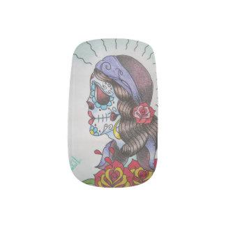 Dead Girl Nail Sticker