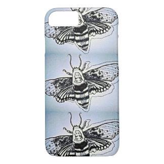 Dead-Head Moth Phone Case. iPhone 7 Case