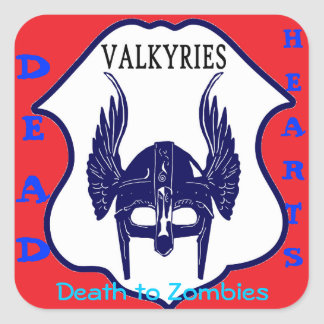 Dead Hearts Stickers