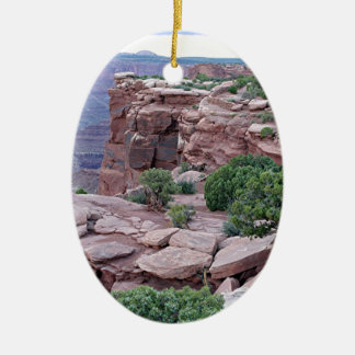 Dead Horse Point State Park Utah USA 2 Christmas Ornament