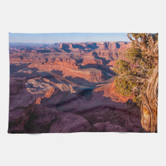 Dead Horse Point Sunrise - Moab, Utah Tea Towel