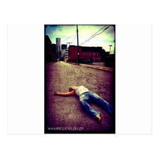 Dead in the City by April A Taylor Postcard