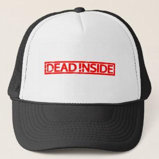 Dead inside Stamp Trucker Hat