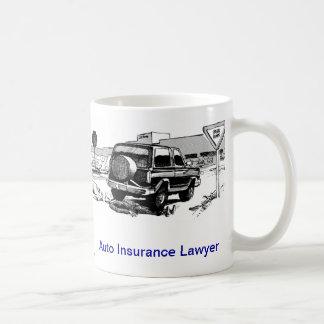 Dead Lawyer™ Auto Insurance Lawyer Coffee Mug