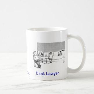 Dead Lawyer™ Bank Lawyer Coffee Mug