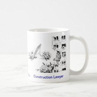 Dead Lawyer™ Construction Lawyer Coffee Mug