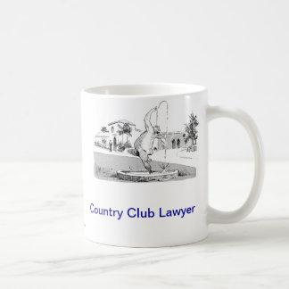 Dead Lawyer™ Country Club Lawyer Coffee Mug