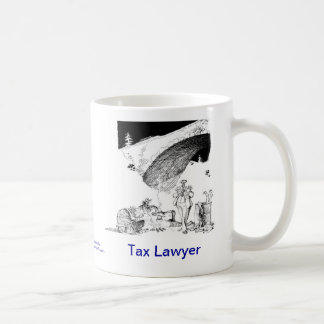 Dead Lawyer™ Tax Lawyer Coffee Mug
