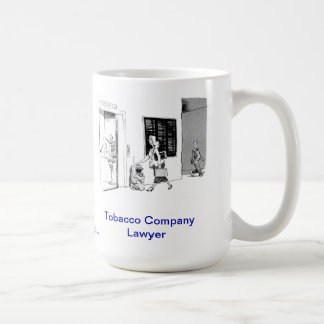 Dead Lawyer™ Tobacco Company Lawyer Coffee Mug