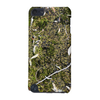 Dead leaves on the mossy ground iPod touch (5th generation) case