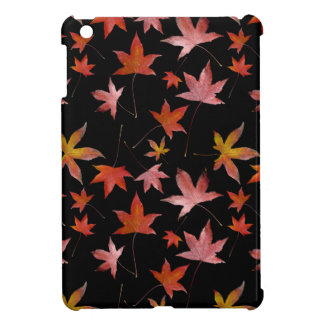 Dead Leaves over Black Cover For The iPad Mini