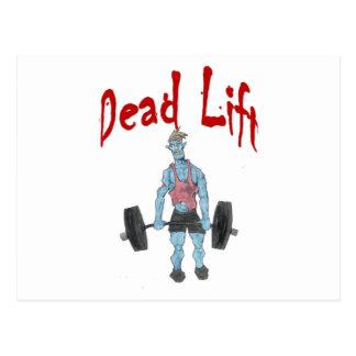 Dead Lift Postcard
