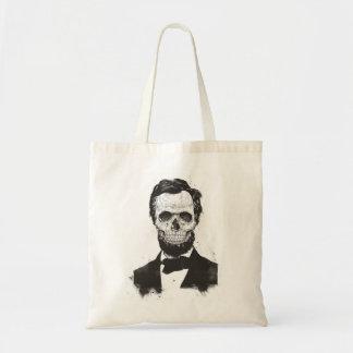 Dead Lincoln (black and white) Tote Bag