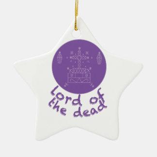 Dead Lord Ceramic Star Decoration