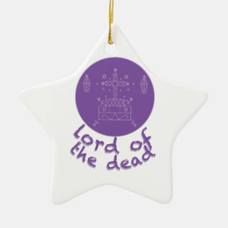Dead Lord Ceramic Star Ornament
