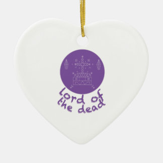 Dead Lord Ceramic Heart Decoration