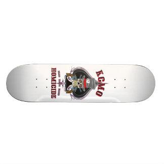 Dead Man's Hand KCMO Homicide 20.6 Cm Skateboard Deck