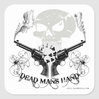 Dead Mans Hand Sticker