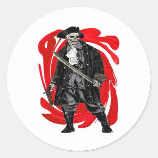 Dead Men Tell No Tales Classic Round Sticker