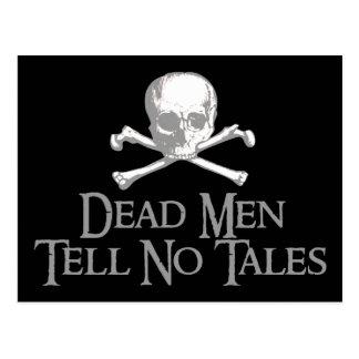 Dead Men Tell No Tales Postcards