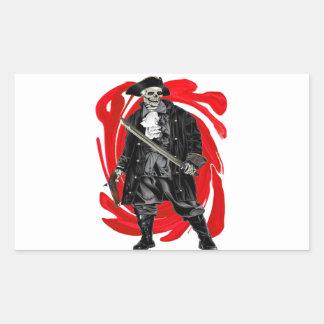 Dead Men Tell No Tales Rectangular Sticker