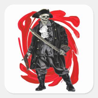 Dead Men Tell No Tales Square Sticker