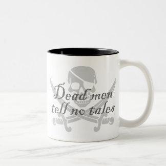 Dead Men Tell No Tales Two-Tone Coffee Mug