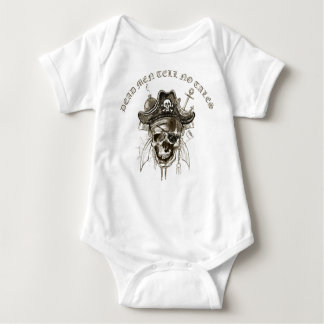 Dead men tells no tales baby bodysuit