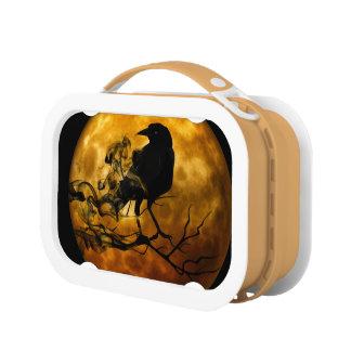 Dead moon crow lunch box