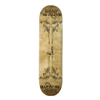 Dead or Alive Custom Skate Board