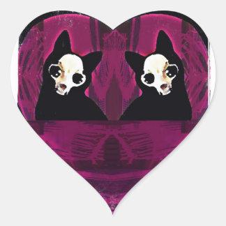 Dead or Alive Heart Sticker