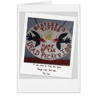 Dead Pecker Polarioid Cards