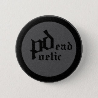 dead poetic (band) 6 cm round badge