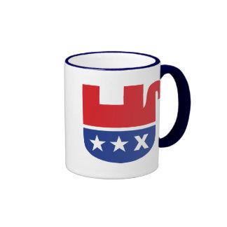 Dead Republican Elephant Coffee Mugs