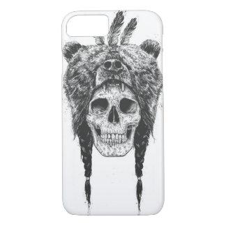 Dead shaman (b&w) iPhone 7 case