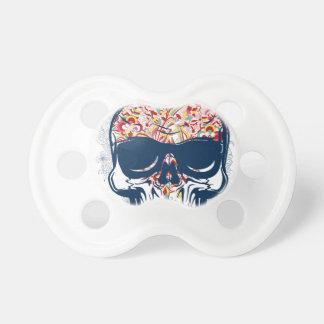 dead skull zombie colored design dummy
