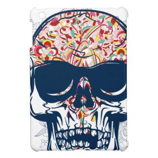 dead skull zombie colored design iPad mini cases
