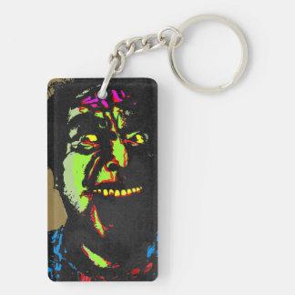 Dead Smile - Rectangular Keyring Double-Sided Rectangular Acrylic Key Ring