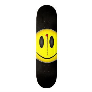 Dead Smiley Custom Pro Park Board Skateboard Deck