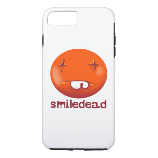 dead smiley face funny cartoon iPhone 8 plus/7 plus case