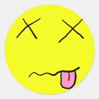Dead Smiley Sticker
