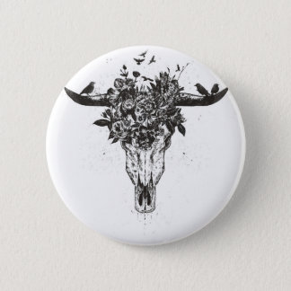 Dead summer (blackandwhite) 6 cm round badge