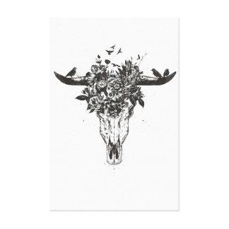 Dead summer (blackandwhite) canvas print