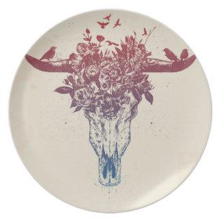 Dead summer plate