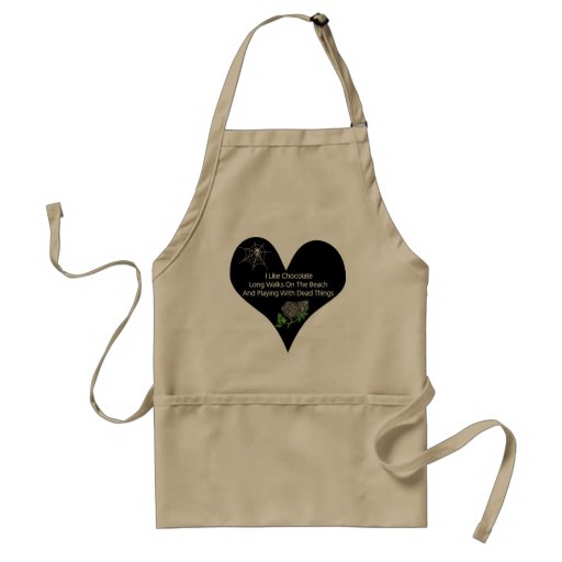 Dead Things Apron