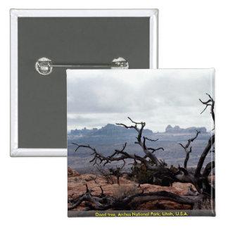 Dead tree Arches National Park Utah U S A Pins