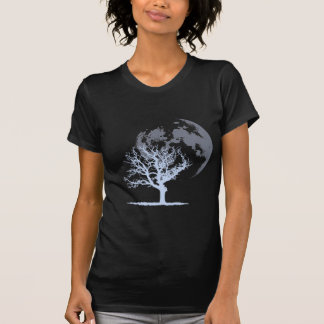 Dead Tree Moon (dark) Tshirts