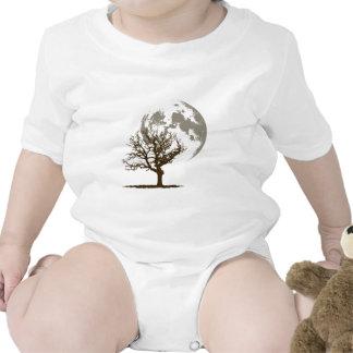 Dead Tree Moon (light) Shirts