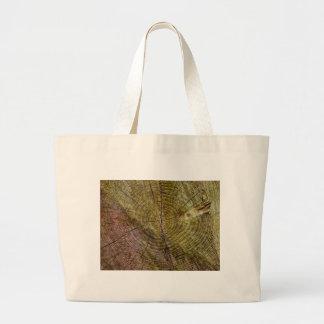 Dead tree rings tote bag