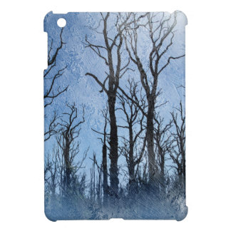 Dead Trees in Blue iPad Mini Covers